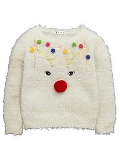 mini-v-by-very-reindeer-pompom-girls-christmas-jumper