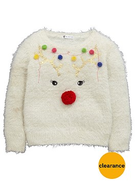 mini-v-by-very-reindeer-pompom-girls-christmas-jumper