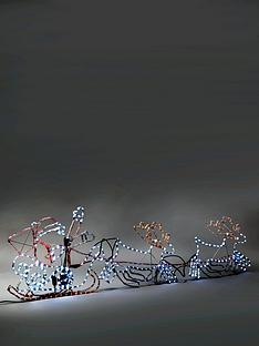 santas-sleigh-and-reindeer-indooroutdoor-christmas-light