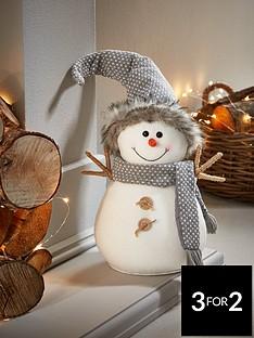 30cmnbspgrey-plush-snowman
