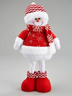 16-inch-standing-red-snowman