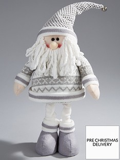16-inch-standing-grey-santa-christmas-decoration