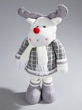 16-inch-grey-standing-reindeer