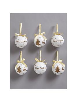 decoupage-christmas-baubles-gold-set-of-14