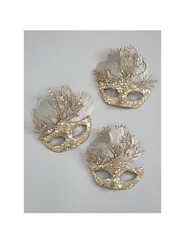 set-of-3-masquerade-hanging-tree-decorations