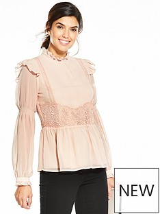 v-by-very-crochet-detail-blouse