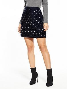 v-by-very-velvet-embellished-mini-skirt