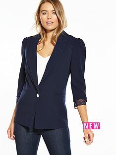 v-by-very-lace-detail-blazer