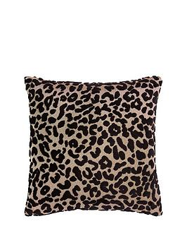 myleene-klass-home-leopard-cushion--nbspblack