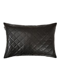 myleene-klass-black-quilted-leather-effect-cushion