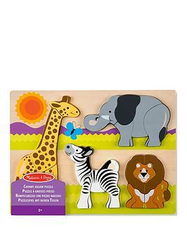 melissa-doug-safari-chunky-jigsaw-puzzle