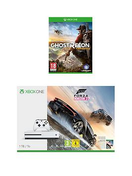 xbox-one-s-1tb-console-with-forza-horizon-3-and-ghost-recon-wildlandsnbspplus-optional-extra-controller-andor-12-months-xbox-live-gold