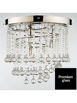 luxe-collection-sorrento-flush-cascading-3-light-crystal-drop-light