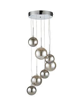 locarno-smokey-globe-7-light-glass-cluster-pendant
