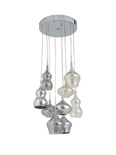 ideal-home-varese-smoky-amp-iridescent-9-light-glass-cluster-pendant-light