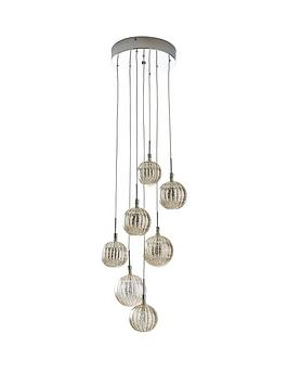 grace-iridescent-glass-globe-7-light-cluster-pendant
