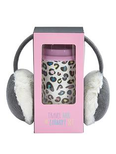 bright-leopard-print-travel-mug-amp-grey-ear-muff-set