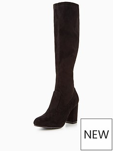 wallis-wallis-harpsichord-heeled-stretch-knee-boot