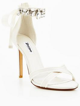 Dune London Morgen Wedding Two Part Sandal
