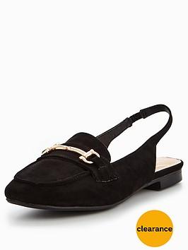 wallis-wallis-butterscotch-slingback-snaffle-loafer