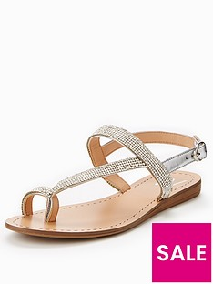 wallis-wallis-spritz-jewelled-slingback-toeloop-sandal