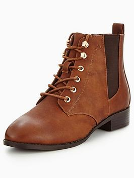 head-over-heels-peggie-buckle-strap-lace-up-boot
