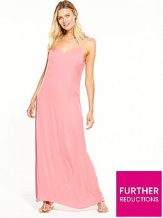 vila-melan-maxi-dress-pink