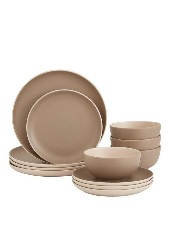 sc 1 st  Very & Ideal Home Stockholm 12-piece Dinner Set | very.co.uk