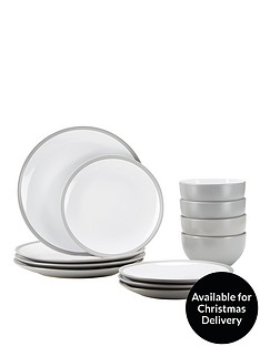 ideal-home-edge-12-piece-dinner-set--nbspgrey
