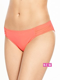 boux-avenue-cyprus-ruched-bikini-brief-coral