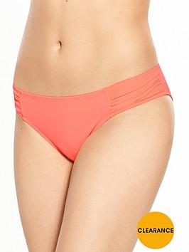 boux-avenue-cyprus-ruched-bikini-brief-coral
