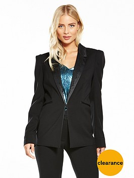 v-by-very-lace-collar-tux-jacket