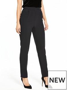 v-by-very-satin-trim-tapered-leg-trouser