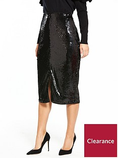 v-by-very-sequin-midi-skirt