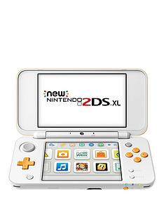 nintendo-2ds-xl-hw-handheld-console-white-and-orange