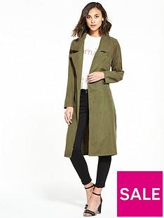 vero-moda-filippa-long-blazer-olive