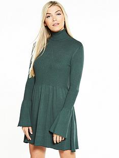 vero-moda-vero-moda-norwalk-glory-long-sleeve-short-dress