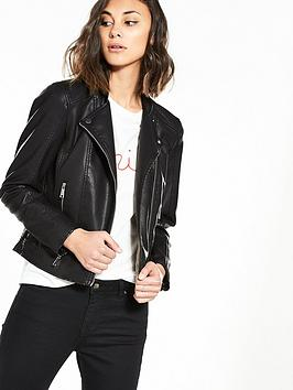 vero-moda-kerri-short-pu-jacket-noos