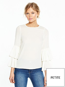vero-moda-petite-dellie-tiered-sleeve-top