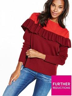 vero-moda-phoebe-knitted-jumper-red