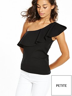 vero-moda-petite-punto-one-shoulder-top