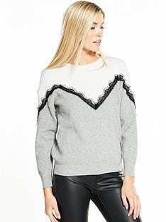 vero-moda-smillia-long-sleeve-lace-knit-grey