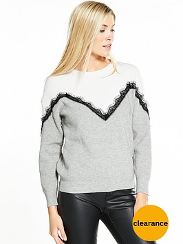 vero-moda-smillia-long-sleeve-lace-knit-grey