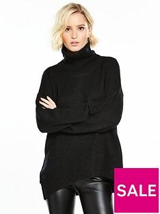 vero-moda-duarte-long-sleeve-roll-neck-jumper-black