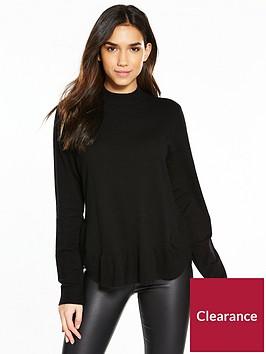 vero-moda-karis-annika-high-neck-jumper-black