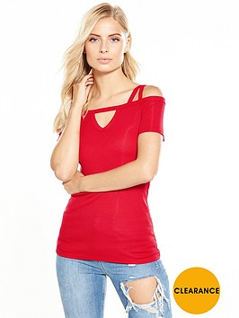 v-by-very-rib-double-strap-top-red
