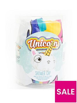 unicorn-shower-cap