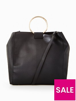 v-by-very-circle-handle-bucket-bag