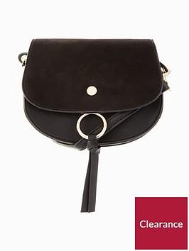 v-by-very-large-flat-stud-saddle-bag