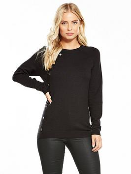 v-by-very-button-side-placket-jumper